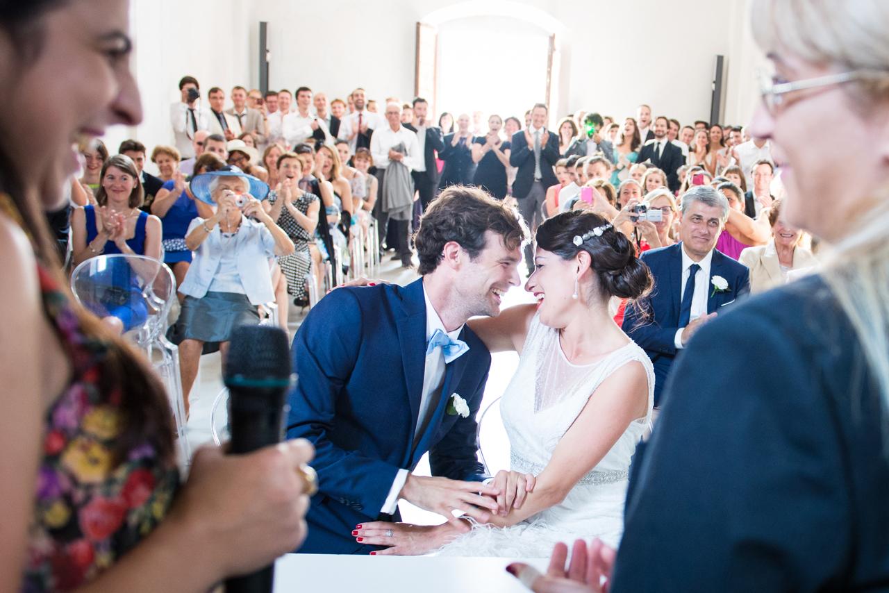 fotografo matrimonio locarno sposi in chiesa